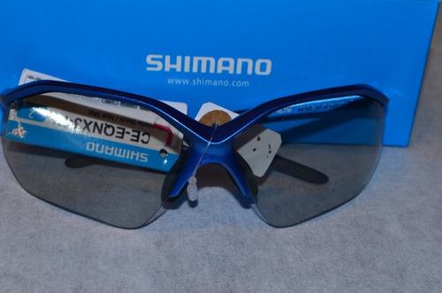 Imagem 1 de 7 de Óculos De Sol Shimano Eceeqnx3phkb Lentes-2 Mtb/speed