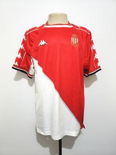 Camisa Futebol Oficial Mônaco França 1999 Home Kappa Gg Xl