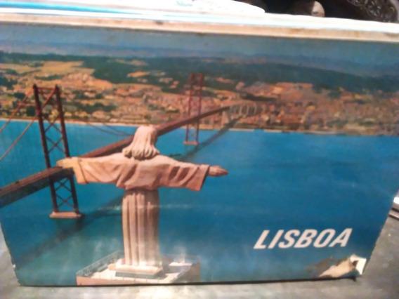 10 Postales Antiguas De Lisboa