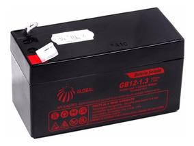 Bateria Selada 12v 1,3ah Global Agm Up1213