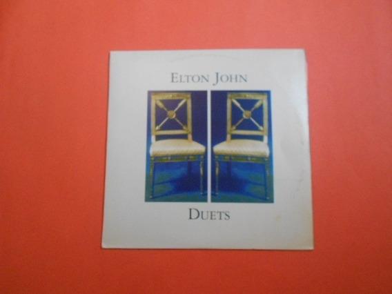 Lp Duplo - Elton Jonh - Duets