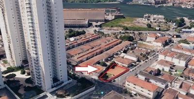 Terreno À Venda, 670 M² Por R$ 2.025.000 - Ponta Da Praia - Santos/sp - Te0012