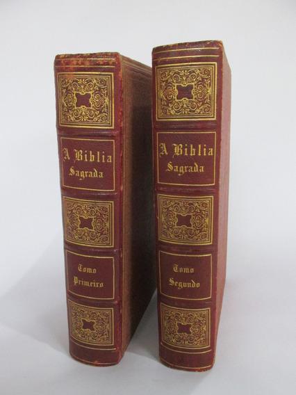 Biblia Antiga 2 Edição De 1881 Em Portugues P. Figueiredo