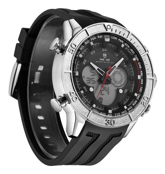 Reloj Weide Original Wh6308-3c Unisex Sport Elegante + Caja