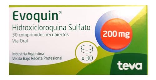 Evoquin 200  Mg X  30 Comprimidos