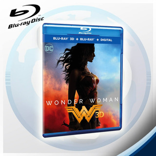 Wonder Woman - Blu Ray 3d Y 2d- Tierra Prima