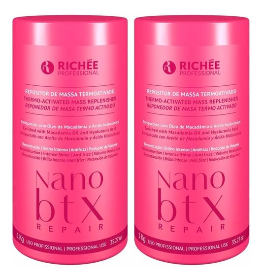 Combo - 02 Richée Nano Botox Repair 1kg + Brinde Tratamento