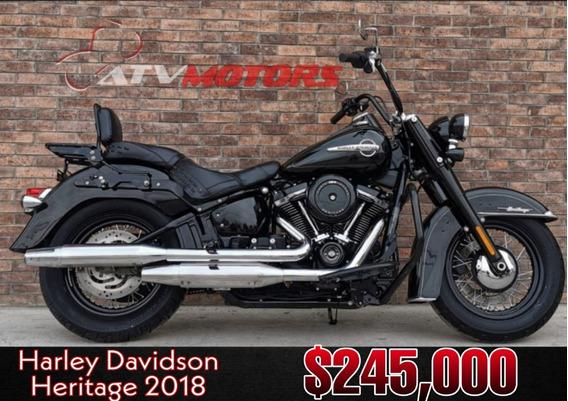 Harley Davidson Heritage 2018