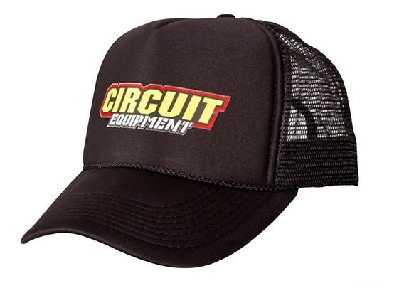 Boné Circuit Trucker Preto