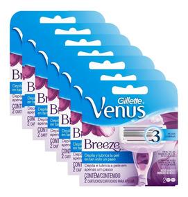 Kit Com 14 Cargas Gillette Venus Breeze