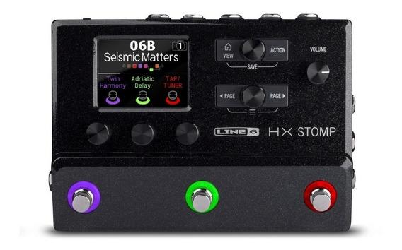 Hx Stomp Pedaleira Multi-efeitos Para Guitarra Da Line 6