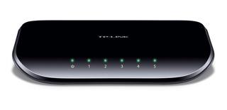 Switch Tp Link Gigalan 5 Bocas 1005d Desktop Pyme Hogar