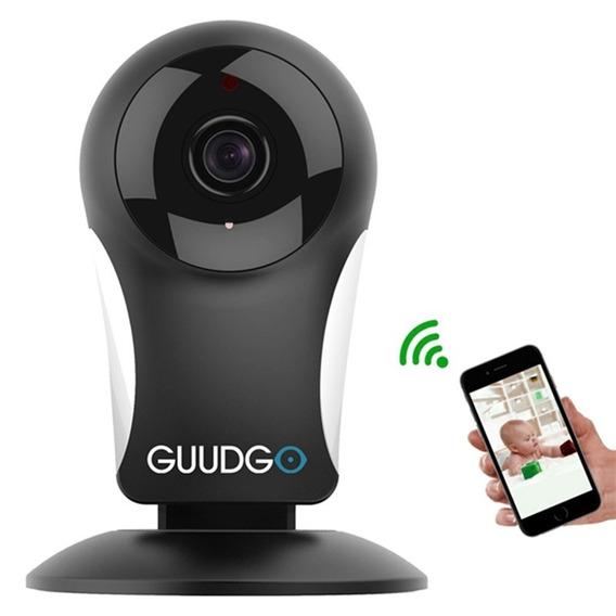 Câmera Babá Eletrônica Ip Guudgo Segurança Wireless Usb Wifi