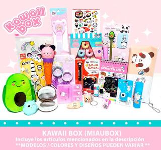 Kawaii Box Caja Especial Papelería Accesorios Squishy Cute