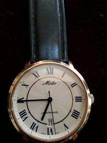Relógio Mido Folheado A Ouro 18 K