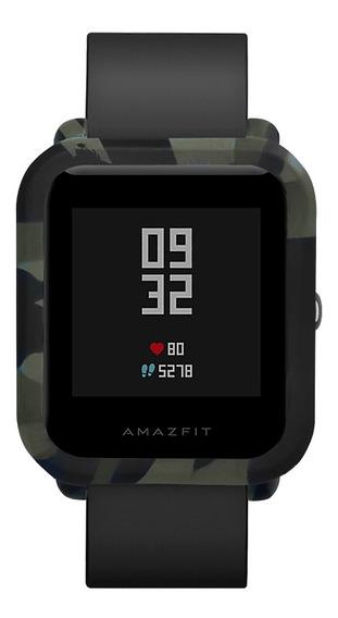 Estuche De Camuflaje Suave Para Reloj Inteligente Amazfit Bi