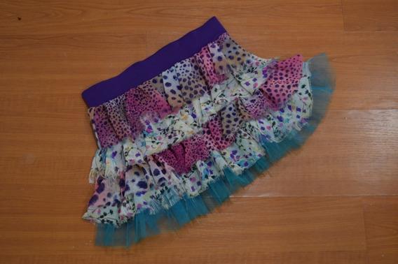 Minifalda Con Tutú