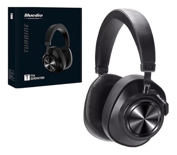 Bluedio T7 Fone Headphone Preto Bluetooth 5.0 Sem Fio 2019