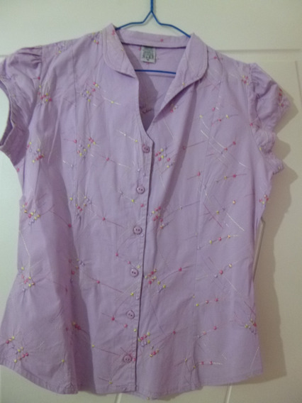 Camisa / Blusa Casual Para Damas Oferta