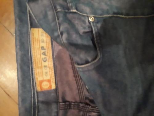 Pantalon Pescador Gap Jean Oscuro Tornasolado Exclusivo