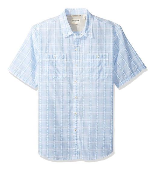 Dockers - Camisa Manga Corta Para Hombres