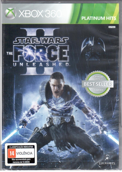 Star Wars Force Unleashed 2 Xbox 360 Mídia Física Lacrado