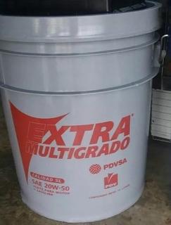 Paila Aceite Pdv 20w50 Sellada 19 Litros 65$