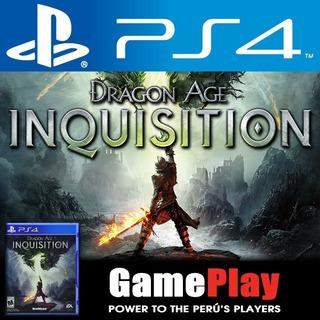 Dragon Age. Juego Sellado Playstation 4 Playstation4 Ps4