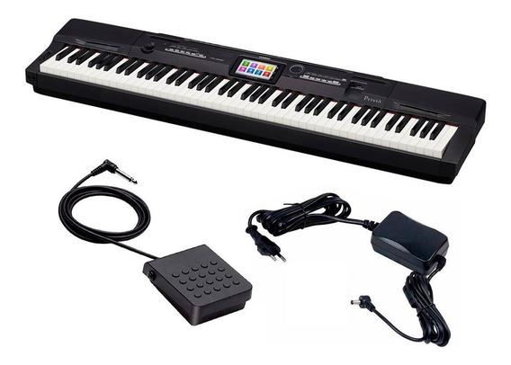 Piano Digital Casio Privia Px 360 88 Teclas C/ Fonte + Pedal