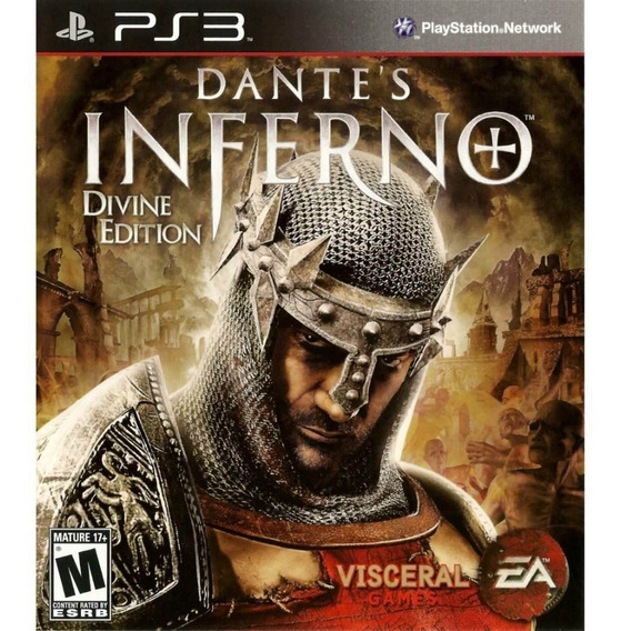 Dantes Inferno Ps3 Midia Digital Psn Original Envio Rapido