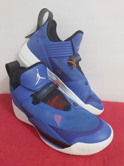 Jordan 33 Se Blue Original Con Caja (27 Y 28 Cm)