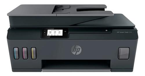 Imagen 1 de 4 de Impresora a color multifunción HP Smart Tank 530 con wifi negra 200V - 240V
