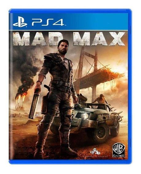 Mad Max Ps4 Mídia Física Pronta Entrega
