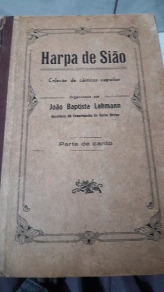 Livro Harpa De Sião Antigo