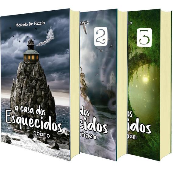 Trilogia A Casa Dos Esquecidos - 3 Livros