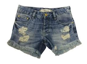 Revanche Short Jeans Azul 033003 Novo Com Tags
