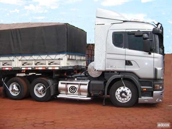 Scania 124 G 400 Graneleira Bitrem Ano 2008/2008