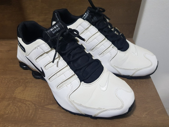 Nike Shox Nz Branco Original 41 Masculino