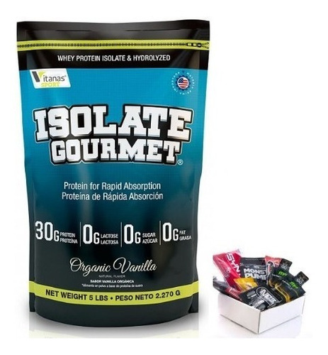 Isolate Gourmet 2lb Similar  Iso - Unidad a $99900