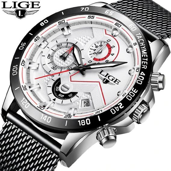 Relógio Masculino Original Luxo A Prova D