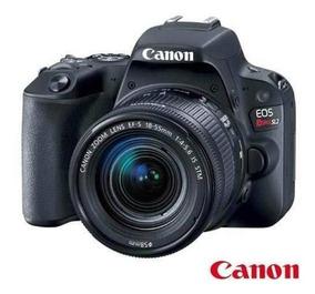 Câmera Digital Canon Eos Rebel Sl2 Garantia + Nf