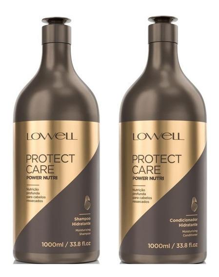 Lowell Protect Care Shampoo Condicionador Power Nutri 1l