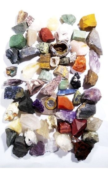 60 Pedras Grandes Brutas Naturais P/escola Artesanato Orgoni