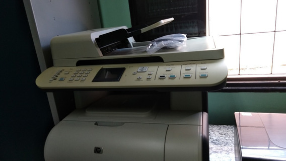 Hp Multifuncional Laser Colorida Cm1312nfi Ideal P/ Trasfer
