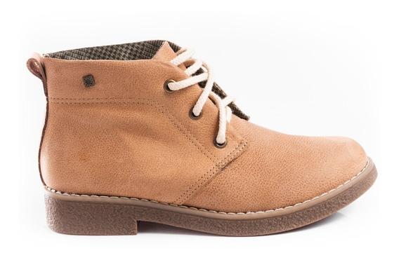 Botas Botitas Cuero Vacuno Zapatos Zapatillas Mujer Comfort