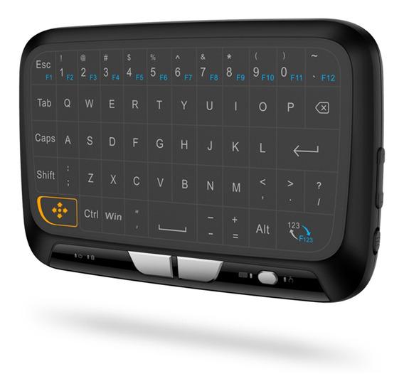Controle Remoto Completo Touchpad Teclado Sem Fio H18 2.4ghz