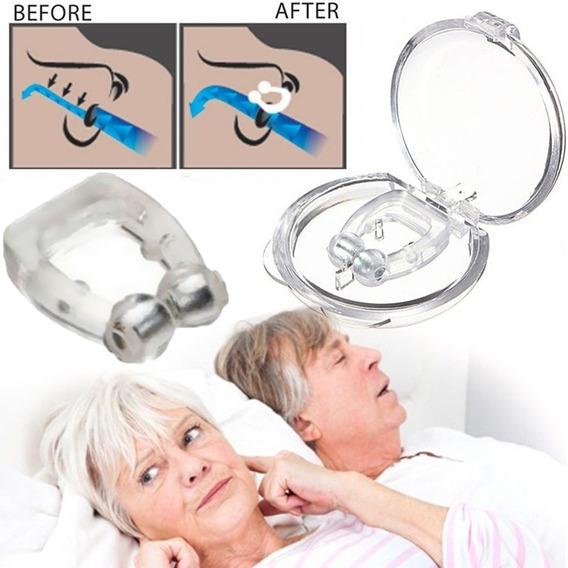 Blue Silica Gel Anti Snore Snoring Stop Dilador & Nasal Sono