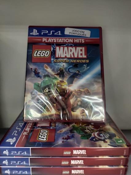 Ps4 Lego Marvel Super Heroes Mídia Física Novo Lacrado Legendas Em Português