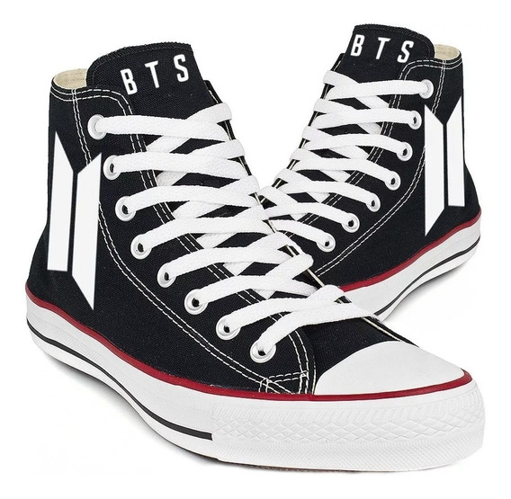 Tênis Bts Kpop Bangtan Boys All Star Converse