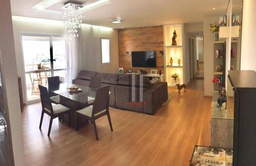 Apartamento Com 2 Dormitórios À Venda, 86 M² Por R$ 714.000 - Mooca - São Paulo/sp - Ap2619